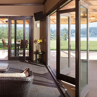 Seattle Stacking Glass Wall Systems Bifold Doors Bellevue