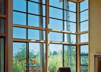 aluminum single hung window